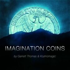 Imagination Coins Euro (DVD and Gimmicks) by Garrett Thomas and Kozmomagic
