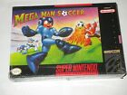 Mega Man Soccer (Super NES, 1994) Nintendo SNES NEW Factory Sealed *corner