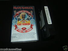 IRON MAIDEN THE FIRST TEN YEARS THE VIDEOS NEW ZEALAND RELEASE VHS VIDEO