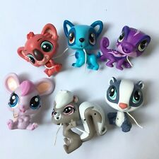6x Promotion Littlest Pet Shop LPS Zoo Park Animals Pet Fox figures Hot Kids Toy