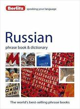 Berlitz Russian Phrase Book and Dictionary, Berlitz Publishing, New Books