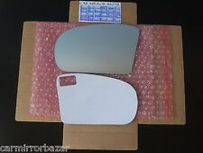 544LF  01-09 Mercedes-Benz C E AMG Mirror Glass Driver Side Left + FULL ADHESIVE