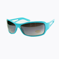 *ON SALE*  Light Blue Funky UV400 Sunglasses. Retro Cool Novelty Party Shades  A