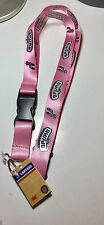 San Antonio NBA Spurs Pink Lanyard Key Chain