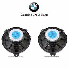 BMW E46 Bass Loudspeaker 6.25'' GENUINE (x2) Front Door Rear Woofer Speaker