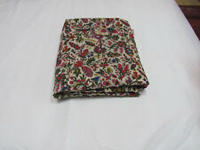 5 Yards Cotton Voile Hand Block  Print Fabric Natural Dyes Sanganer Indian A72