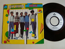 """NEW EDITION : Candy girl 7"""" 45T 1983 French issue LONDON RECORDS BARCLAY 100.351"""