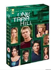 One Tree Hill Complete Season 4 DVD Series New Sealed UK Original R2 4th Fourth