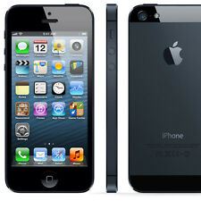 Apple iPhone 5 - 32GB-Negro y Slate (liberado) Smartphone Buen Estado