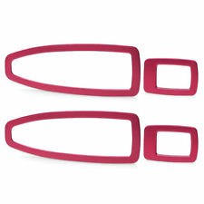 Car Door Window Switch Panel Cover Trim For BMW 3 Series F30 320 328-Red