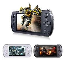 JXD S5800 Retro Console Capacitive Multi-Gaming Rooted 4G MP5 Player - BLACK