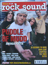 ROCK SOUND 54 2002 Puddle Of Mudd Snapcase Filter Nada Surf Vines Sinch Sleater