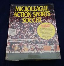 Microleague Action Sports Soccer (PC, 1992) Dos 3.5 Inch Floppy Disk New in box.