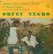 """original motion picture soundtrack ORFEU NEGRO 7""""EP 1959 orig. Italy ost"""