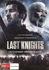 Last Knights (DVD) - Clive Owen / Morgan Freeman -Region 4 -Very Good Condition