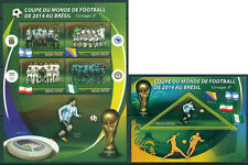 Football Soccer World Cup FIFA 2014 Brasil Madagascar MNH stamp set of 16 sheets