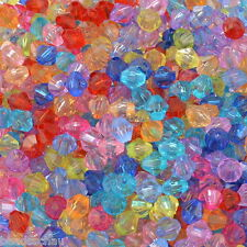 1000 Mixed Acrylic Bicone Beads 5301 5x5mm GIFTS