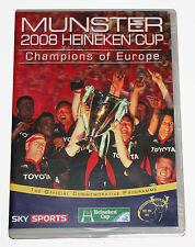 MUNSTER 2008 HEINEKEN CUP - Champions of Europe - DVD - NEW