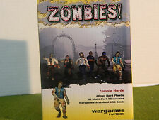 28MM SCALE ZOMBIES SET  BY WARGAMES FACTORY (RETIRED)