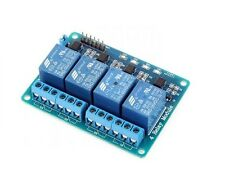4 channel 5V relay control board module with optocoupler for PIC AVR DSP ARM