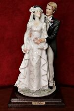 Vintage A.Belcari/Capodimonte Figurine 'Wedding' - signed - Made In Italy