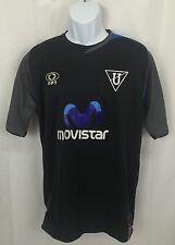 Soccer Futbol Football Jersey Black Optimus Movistar Coca-Cola Pilsner