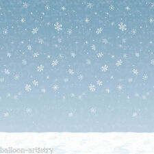Christmas Wonderland Scene Setter Room Roll Backdrop – Winter Sky