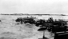 7x5 Gloss Photo ww864 Normandy D-Day Omaha Beach Mulberry Tempete's eabees