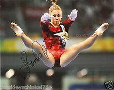 Shawn Johnson Reprint Signed 8x10 Photo #1 RP Olympic Gold Medalist Gymnastics