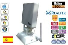 ANTENNA USB PANEL WIFI DIAMOND 38dbi 3800mw REALTEK 8187L,LUNGA FREQUENZA, 3, 8W