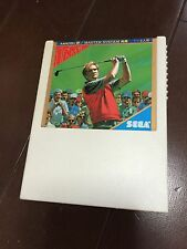 MASTERS GOLF SEGA MASTER SYSTEM SG 1000 SC 3000 JAPAN MARK 3