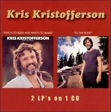 Who's to Bless and Who's to Blame/To the Bone, Kris Kristofferson MINT
