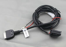VW MFD2 RNS2 RADIO AUX LINE IN TO IPOD IPHONE CABLE ADAPTER