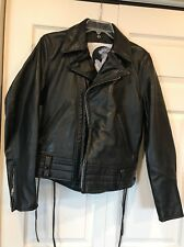 Schott Brothers James Dean Leather Motorcycle Jacket JD-2 Limited Edition Rare S