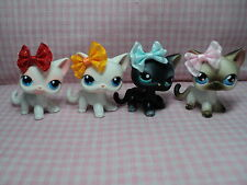 LPS Handmade Littlest Pet Shop Multi Color 12 PC Bows Accessories (No Pets)