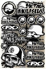 Metal Mulisha Rockstar Energy Sticker Motocross Motorcycle ATV Helmet Decal #T18