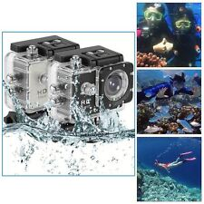 Full HD Camcorder 30M Waterproof 1080P Helmet Sports DV Car Video Action Camera