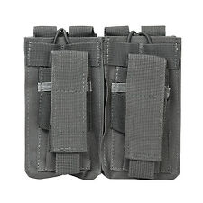 NcStar GRAY Double AR Style 5.56/223 or 7.62x39 & 2 Double Stack Pistol Mags