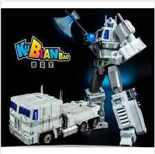 Cool change Po 10V white Optimus Prime KBB MP10V V alloy version of Babel-L