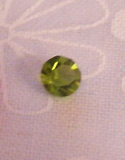 4 mm Round August Birthstone Crystal Floating Locket Charm - NEW