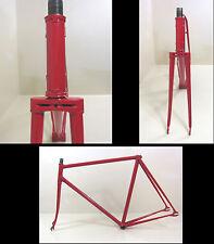 Track Pista Stahl Rahmen Rennrad  Bahnrad Campagnolo Nervex 55 cm 2840 g