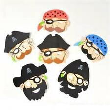 (12) FOAM PIRATE MASKS Kids Party Favor Costume Dress Up #SR34 Free Shipping