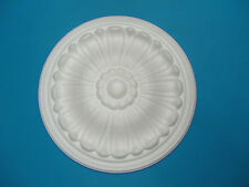 Ceiling Rose Lightweight Small Polystyrene - Size Approx 245mm - 'Dainty Daisey'