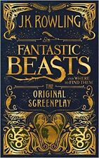 Fantastic Beasts and Where to Find Them by J.K. RowlingThe Origi [Hardcover] NEW