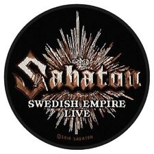 "Sabaton ""Swedish Empire Live"" Patch/Aufnäher 602382 #"