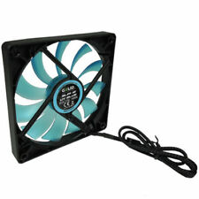 Gelid Solutions Slim 12 UV Blue, Silent 120mm UV Ultraviolet Reactive Case Fan