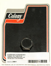 Harley 38-51 OS 11/16-16 Thread Timing & Oil Tank Plug Parkerized Colony 2589-1