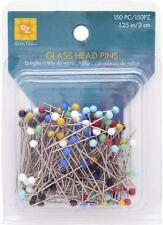 EZ QULTING SEWING DRESSMAKING GLASS HEAD PINS