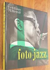ED VAN DER ELSKEN - FOTO-JAZZ - 1959 1ST GERMAN EDITION - NICE COPY!