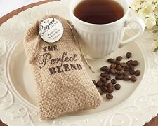 12 Burlap Favor Bags Wedding Perfect Blend Reception Party Country Charm Gifts